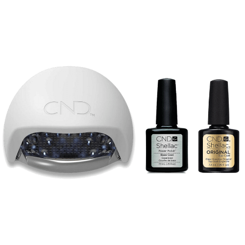 Best At-Home Gel Nail Kit - CND Gel Basic Kit Review