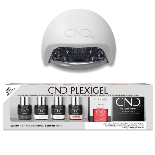 Best At-Home Gel Nail Kit - CND Plexigel System Kit Review