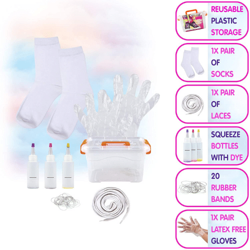 Best Tie-Dye Kit - Fashion Angels Neon Tie Dye Design Kit, Socks and Laces Review