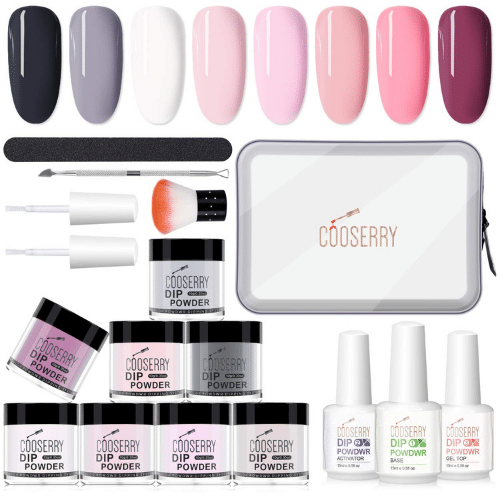 Best Dip Nail Kits - Cooserry Review