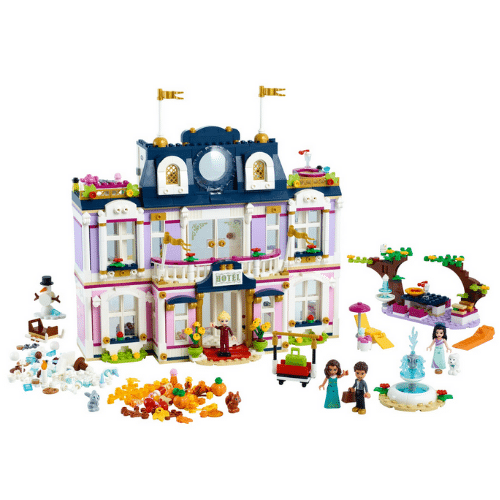 Best Lego Sets - Heartlake City Grand Hotel Review