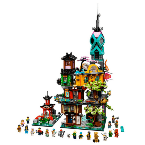 Best Lego Sets - Ninjago City Gardens Review